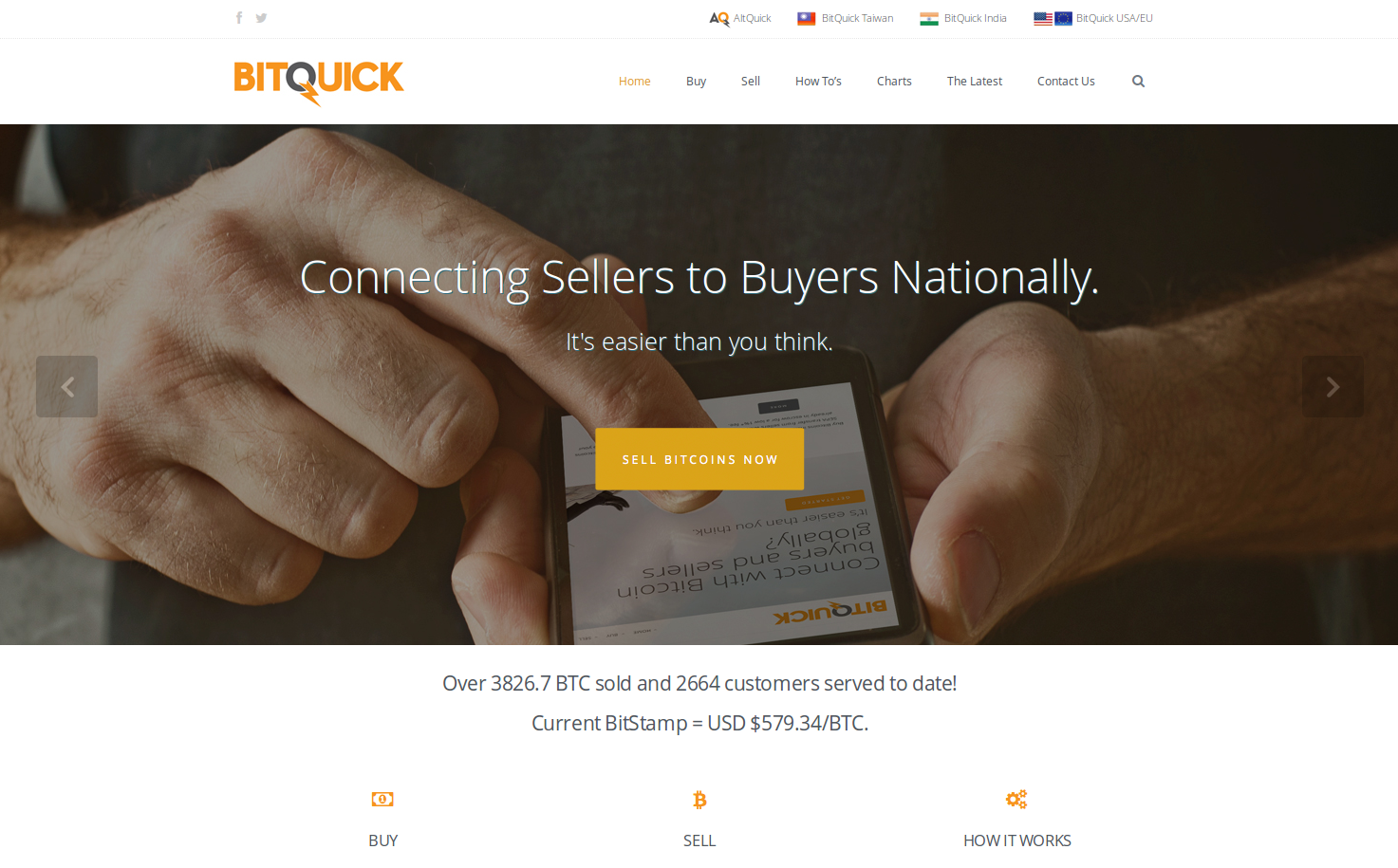 BitQuick.co screenshot