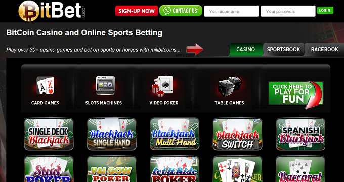 BitBet screenshot