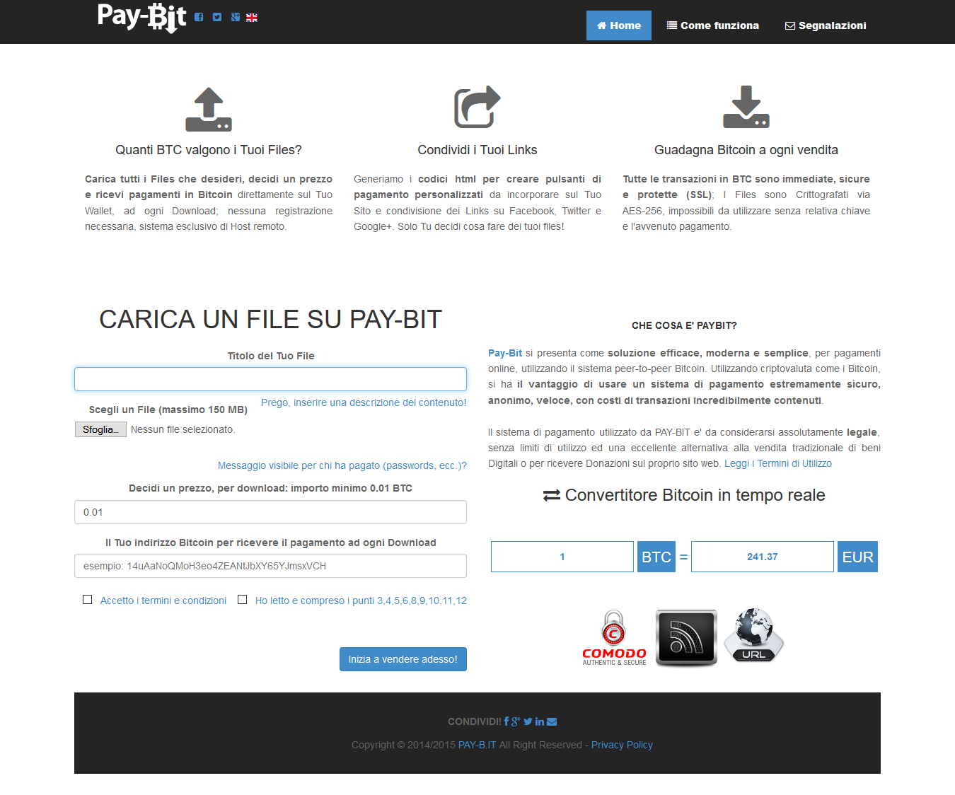 Pay-Bit screenshot
