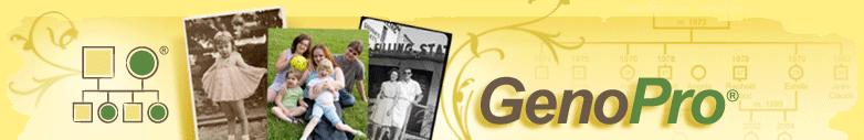 GenoPro.com logo