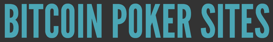 Bitcoin Poker Sites logo