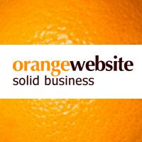OrangeWebsite.com - Bitcoin Web Hosting logo