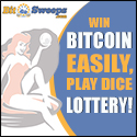 Bitcoin Dice and Lotto logo
