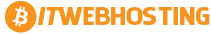 Bitcoin Webhosting logo
