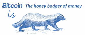 Honey Badger Of Moneylogo