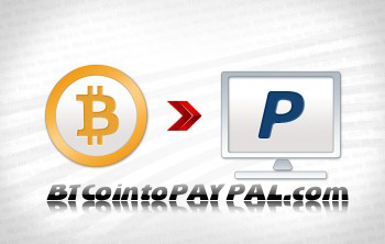 Bitcoin with PayPallogo
