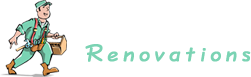 Done right renovations logo