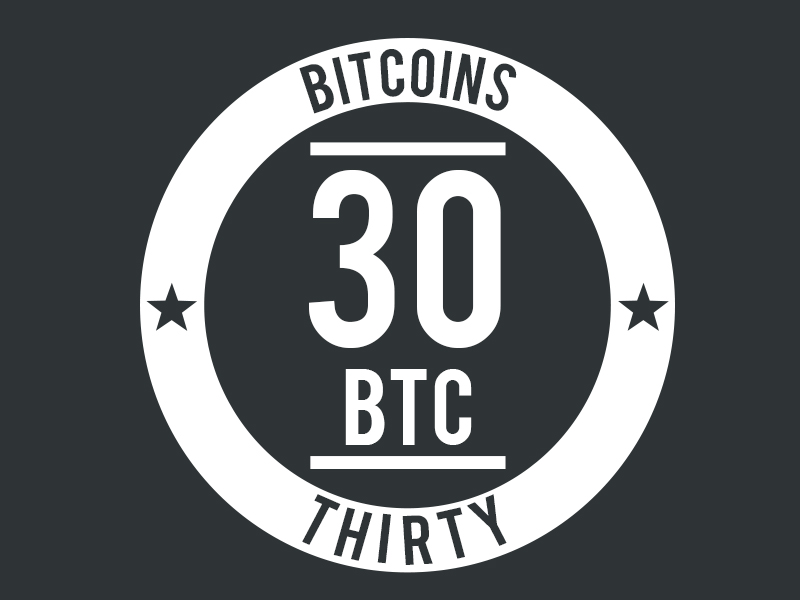 30BTC.com logo