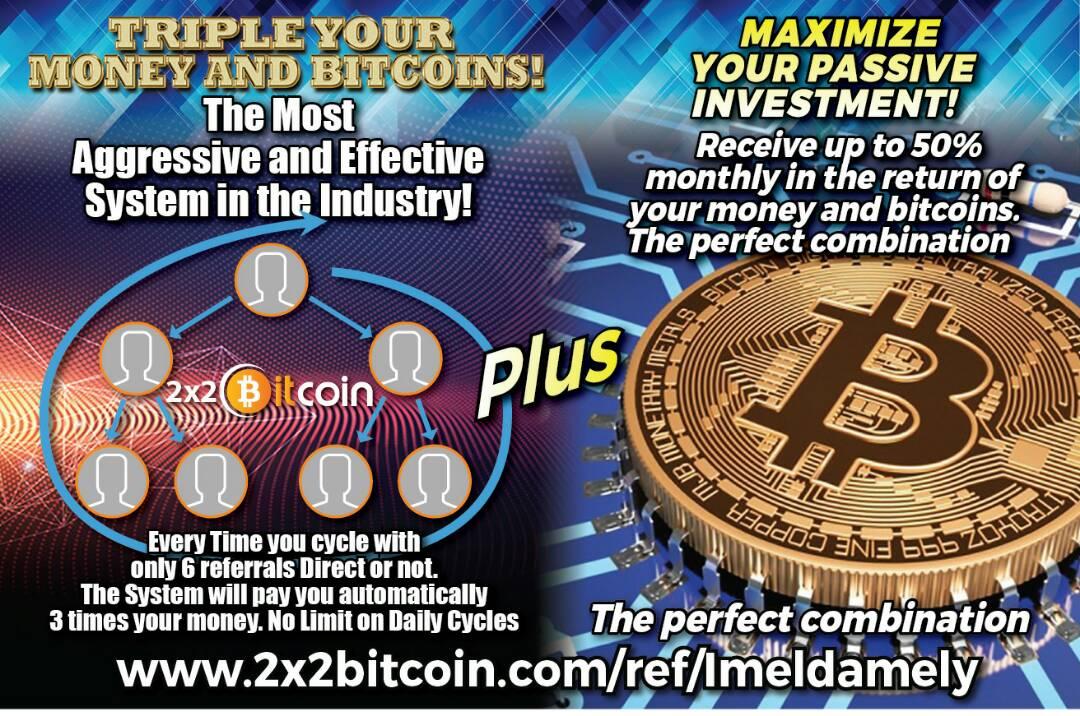 2x2 Bitcoinlogo