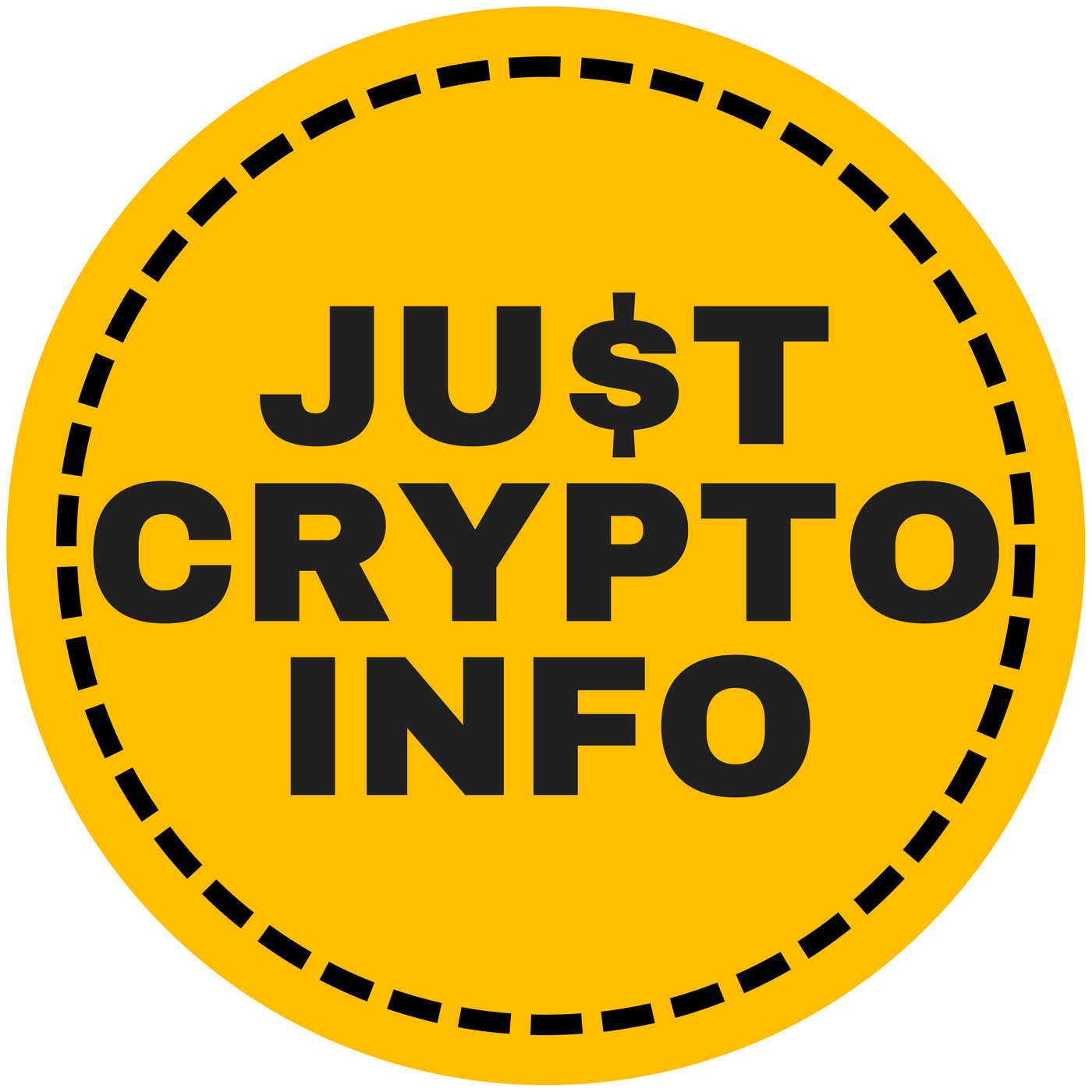 Just Crypto Infologo