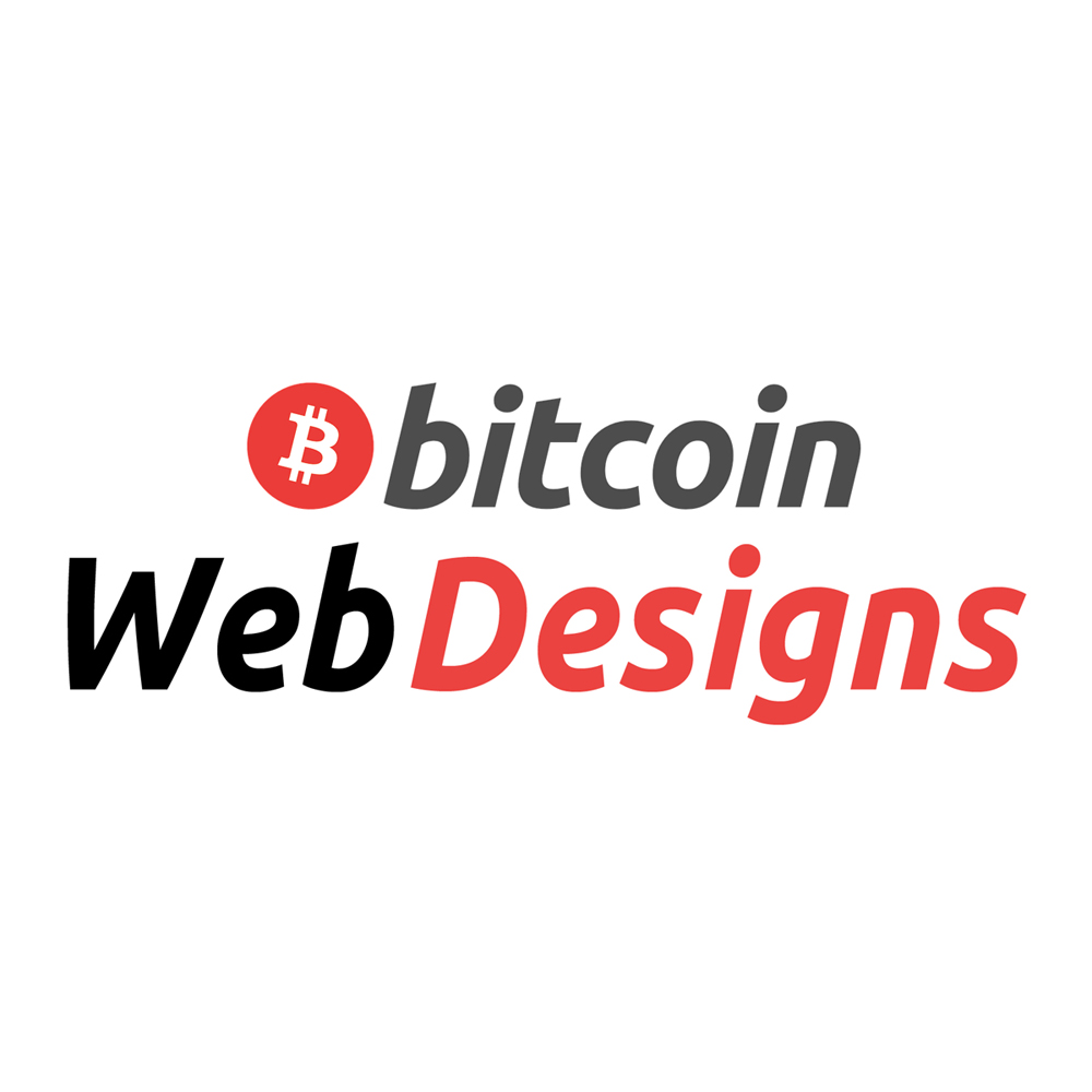 Bitcoin Web Designs logo
