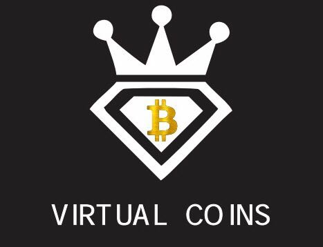 VIRTUAL COINS logo