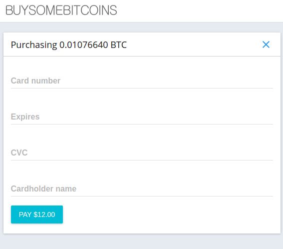 BuySomeBitcoins screenshot