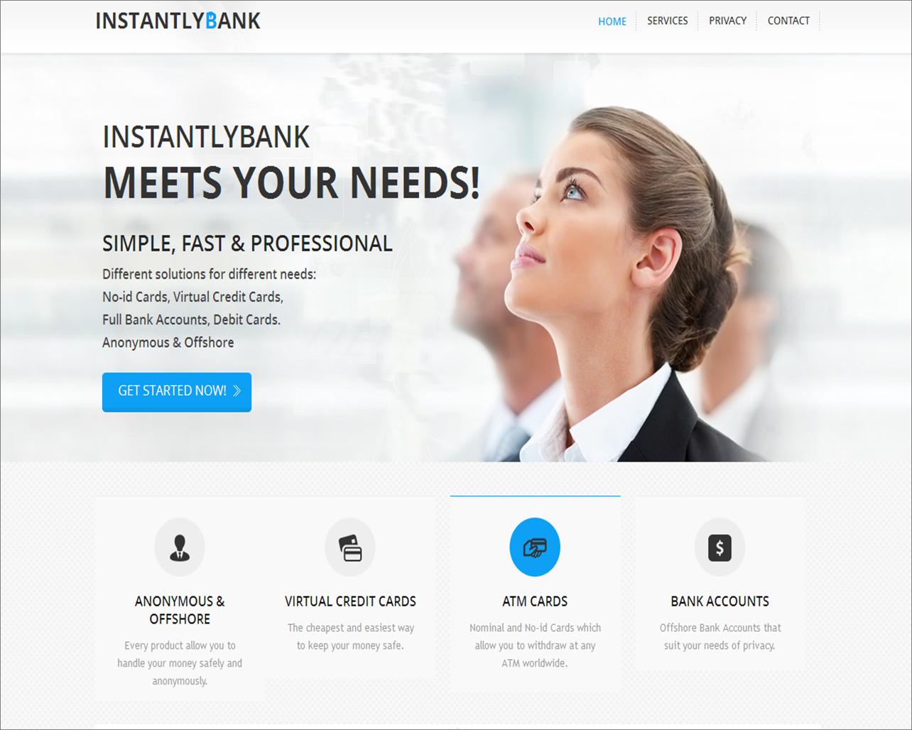 InstantlyBank screenshot