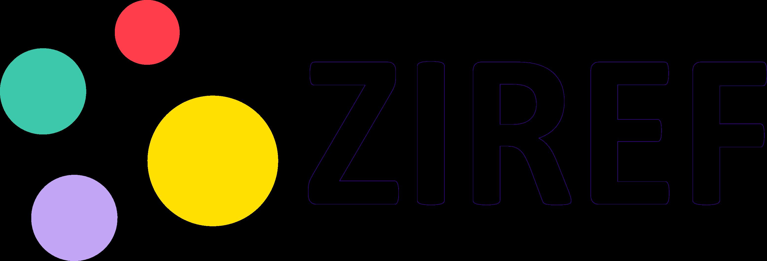 ZIREF logo