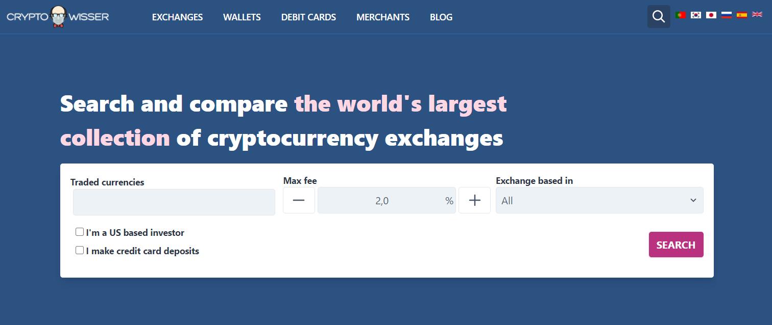 Cryptowisser screenshot