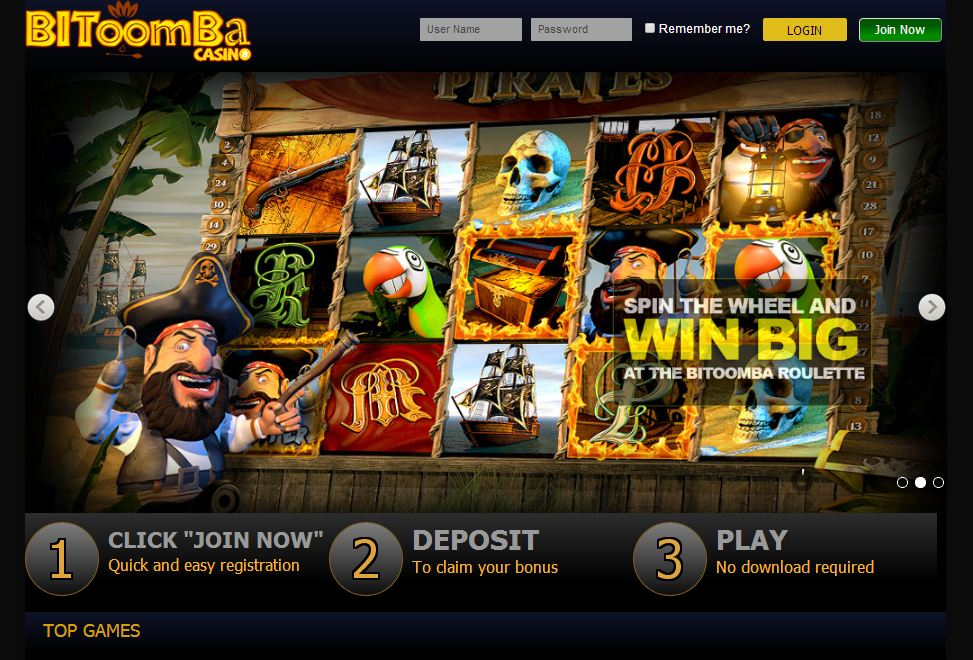 Bitoomba screenshot