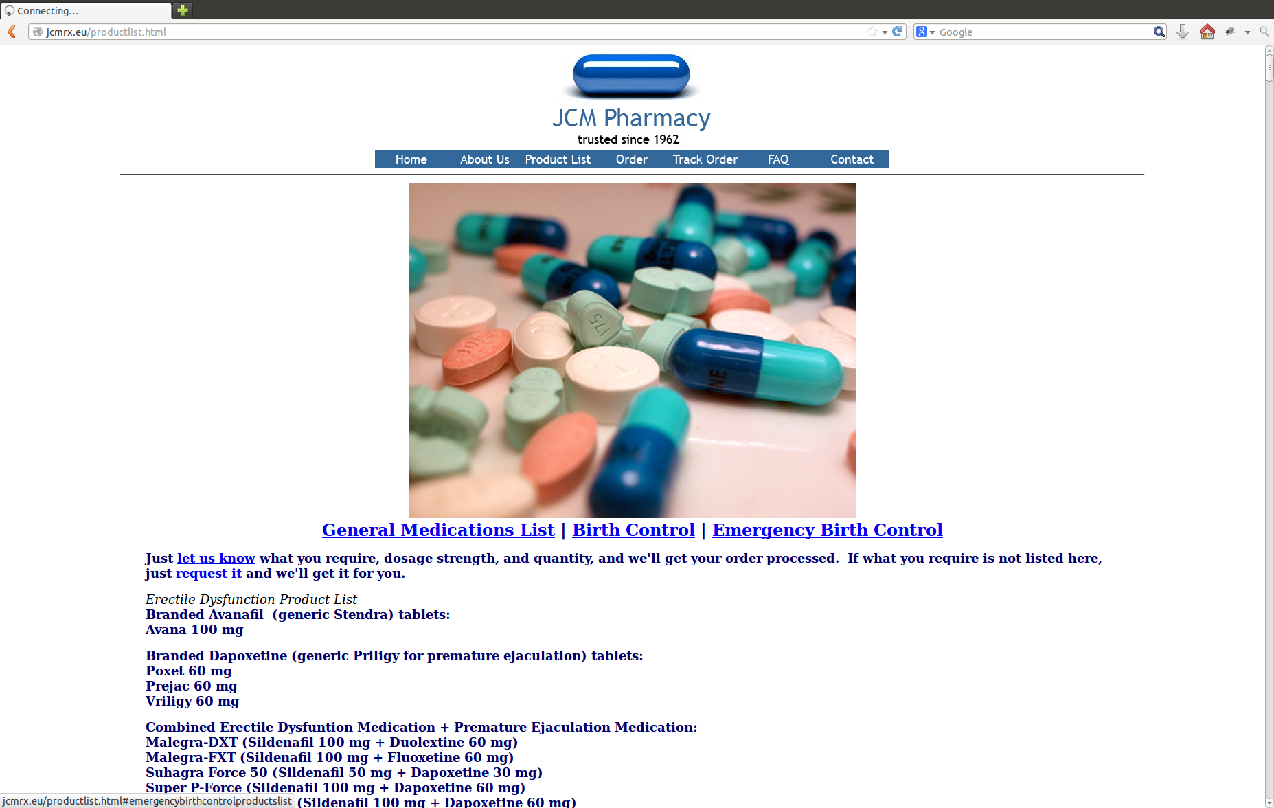 JCM Pharmacy screenshot