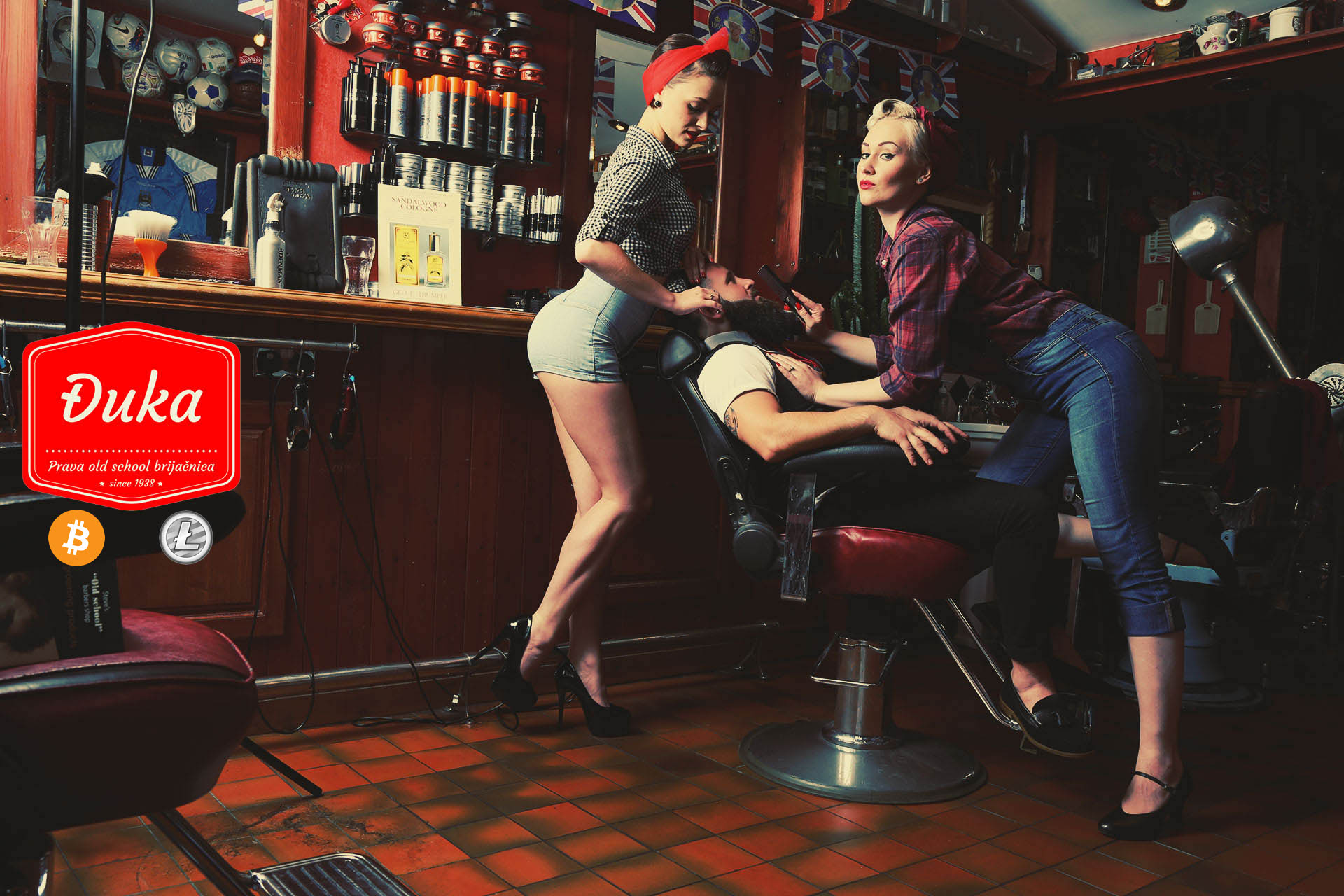 "Barbershop ""Djuka"" screenshot"