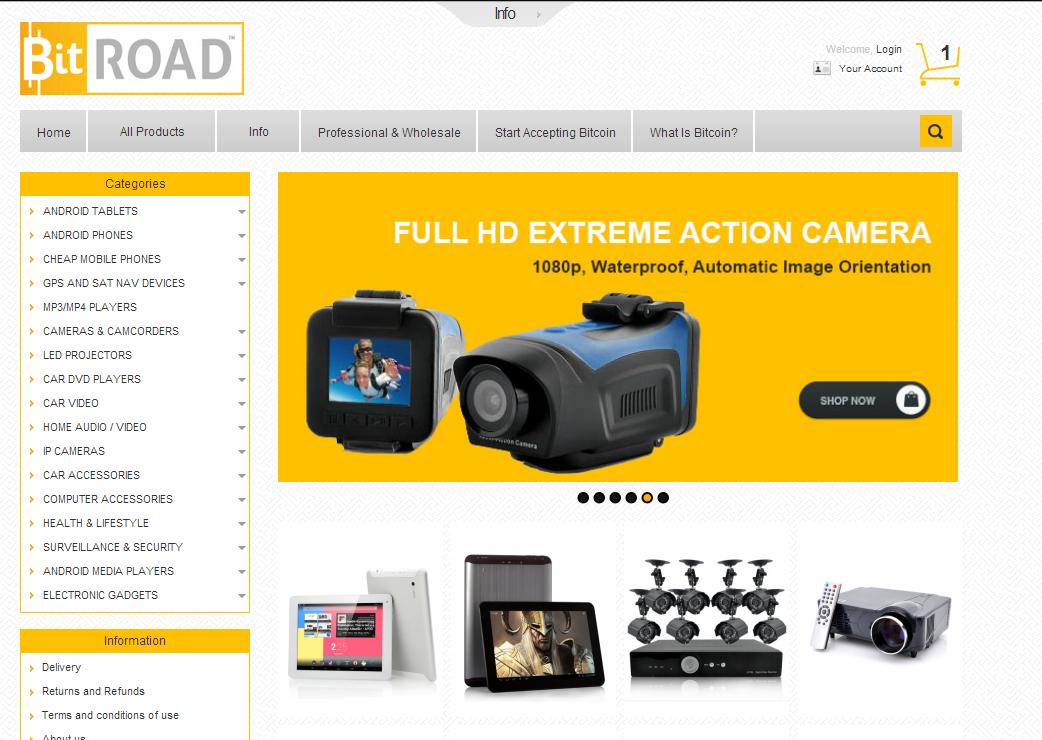 BitRoad screenshot