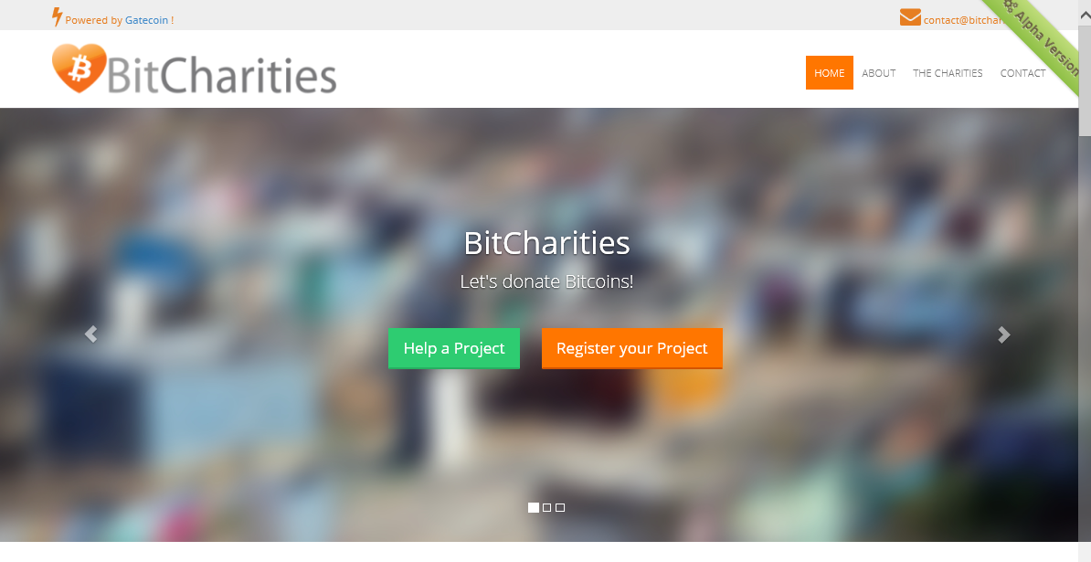 CoinCharities screenshot