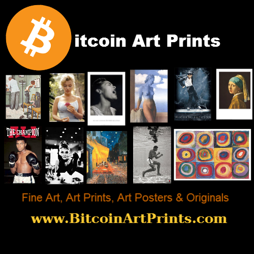 Bitcoin Art Prints screenshot
