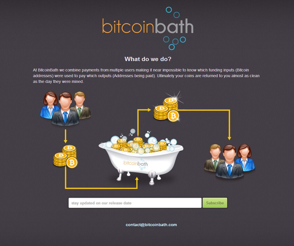 Bitcoin Bath screenshot