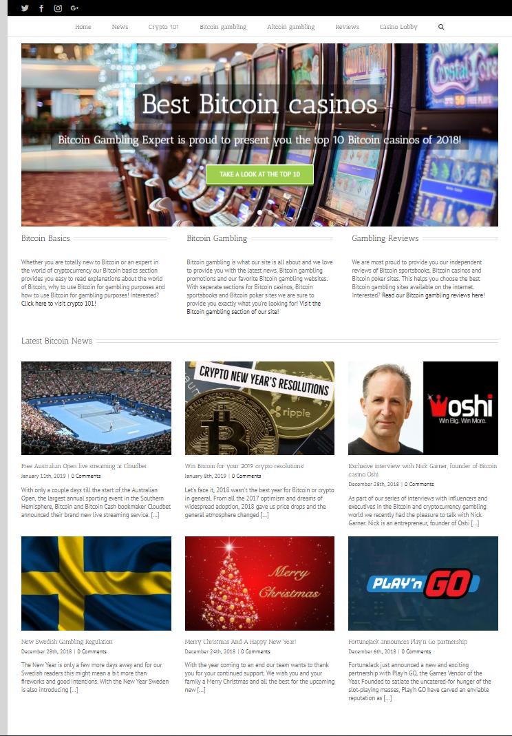 Bitcoin Gambling Expert screenshot