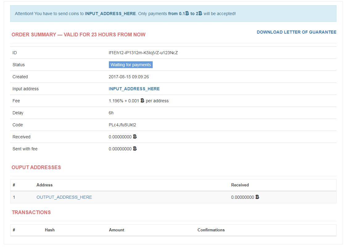 BitMix.Biz screenshot
