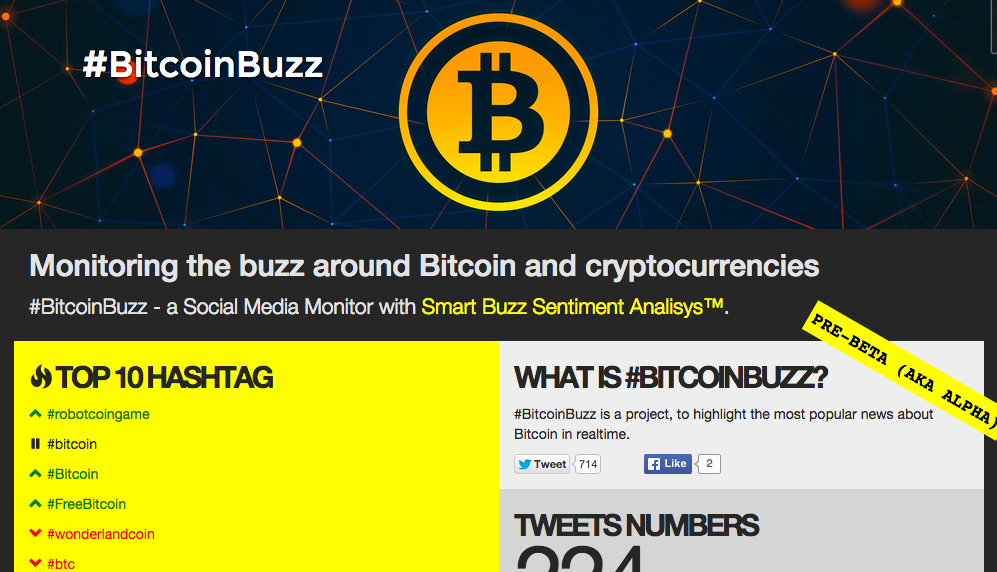 BitcoinBuzz V9 screenshot
