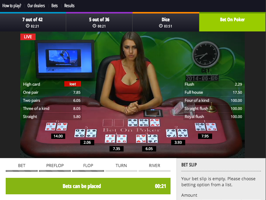 BitcoinCasino.net screenshot
