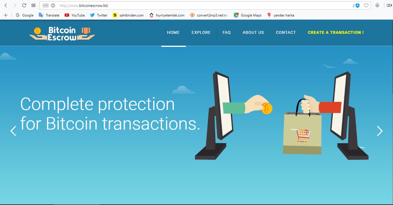 BitcoinEscrowLtd screenshot