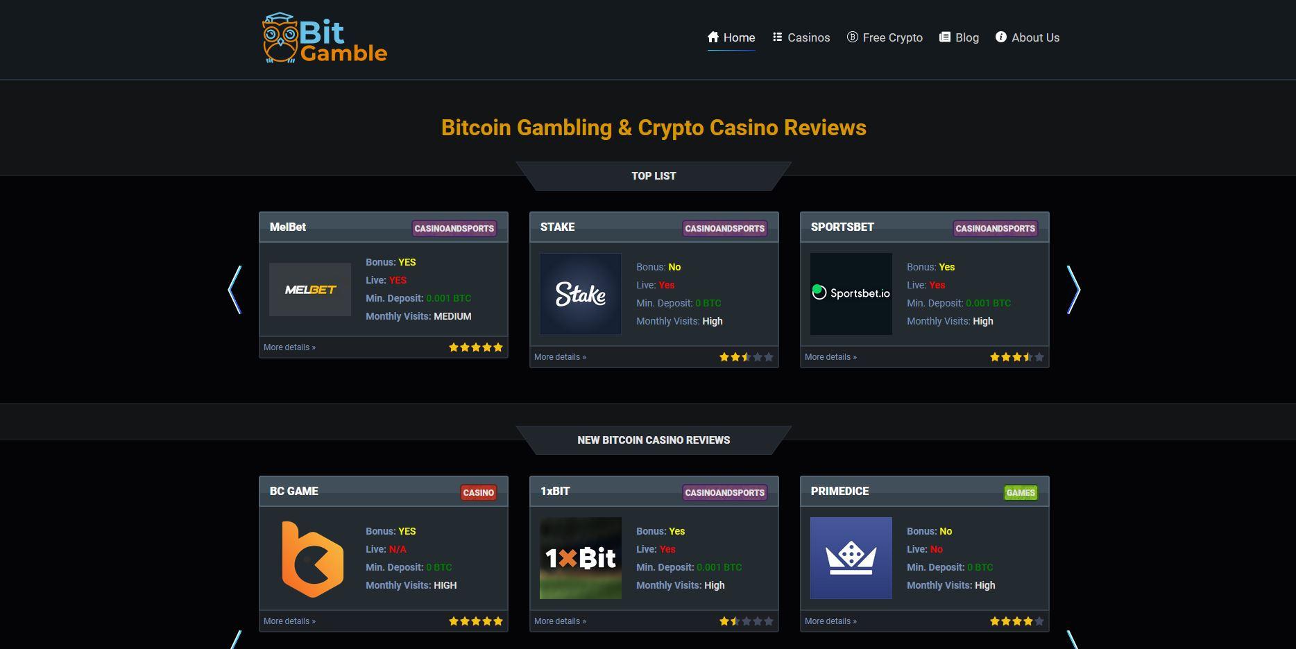 BitGamble screenshot