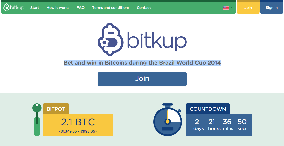 bitkup screenshot