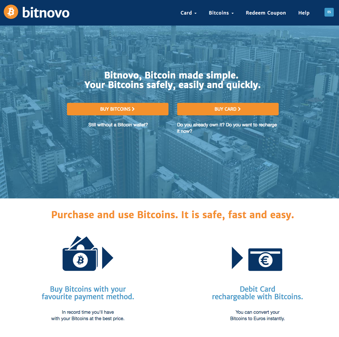 Bitnovo screenshot
