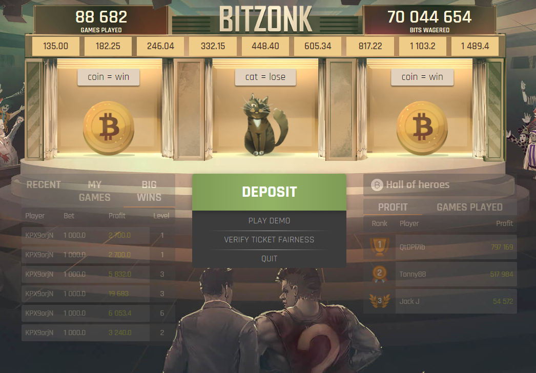 BitZonk screenshot