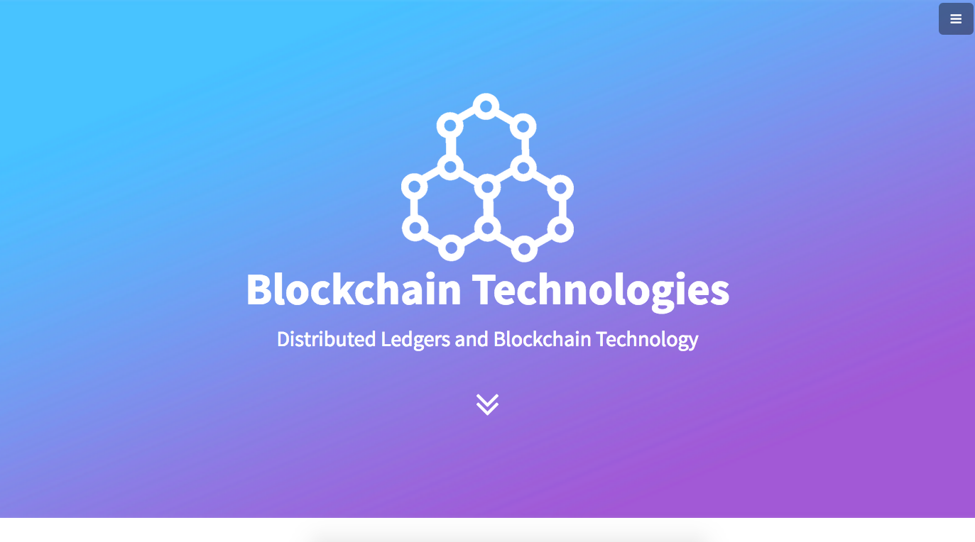 Blockchain Technologies screenshot