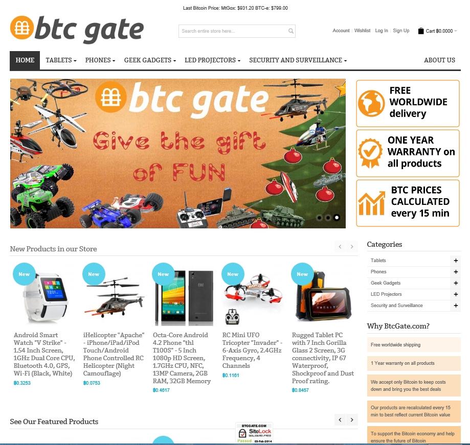 BtcGate.com screenshot