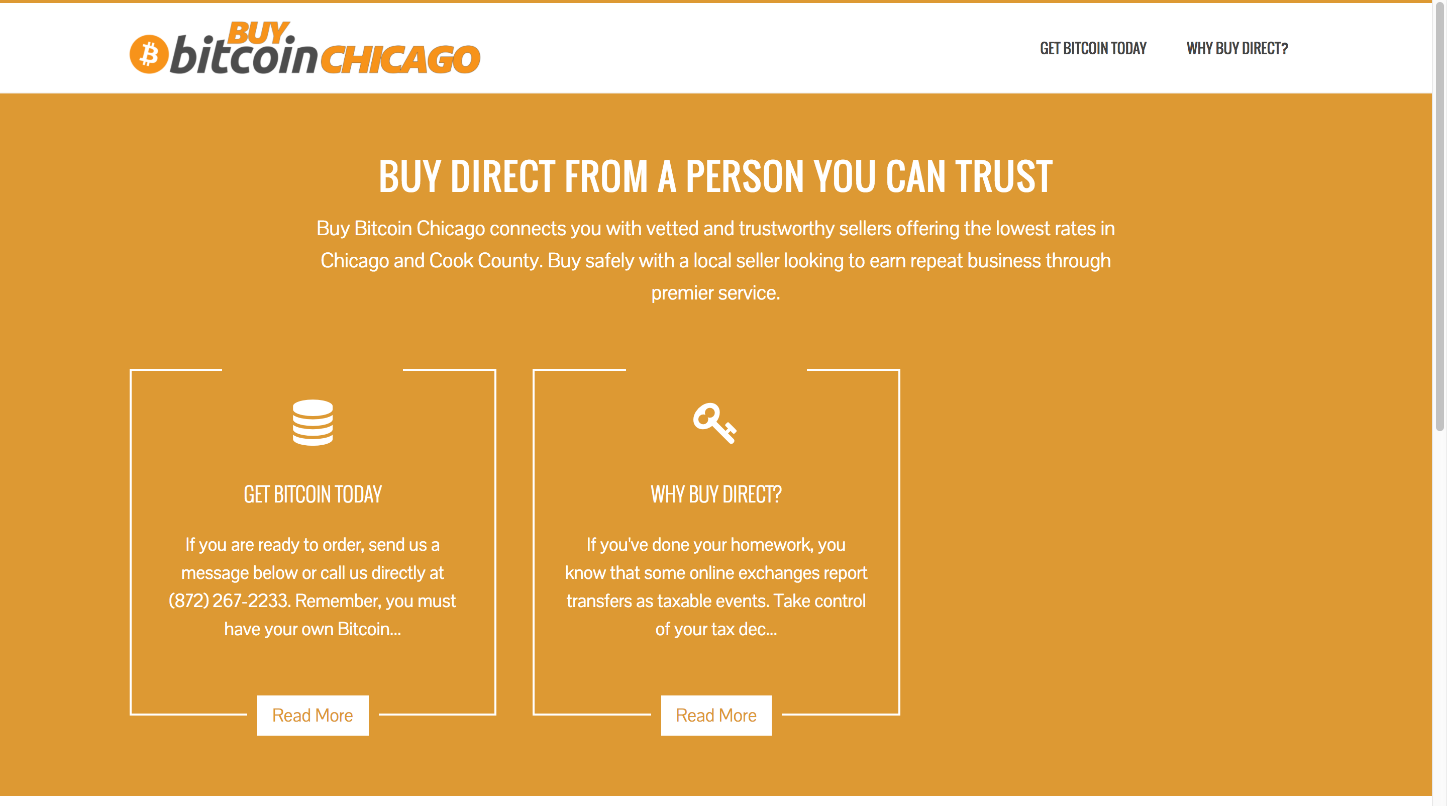 Buy Bitcoin Chicago screenshot