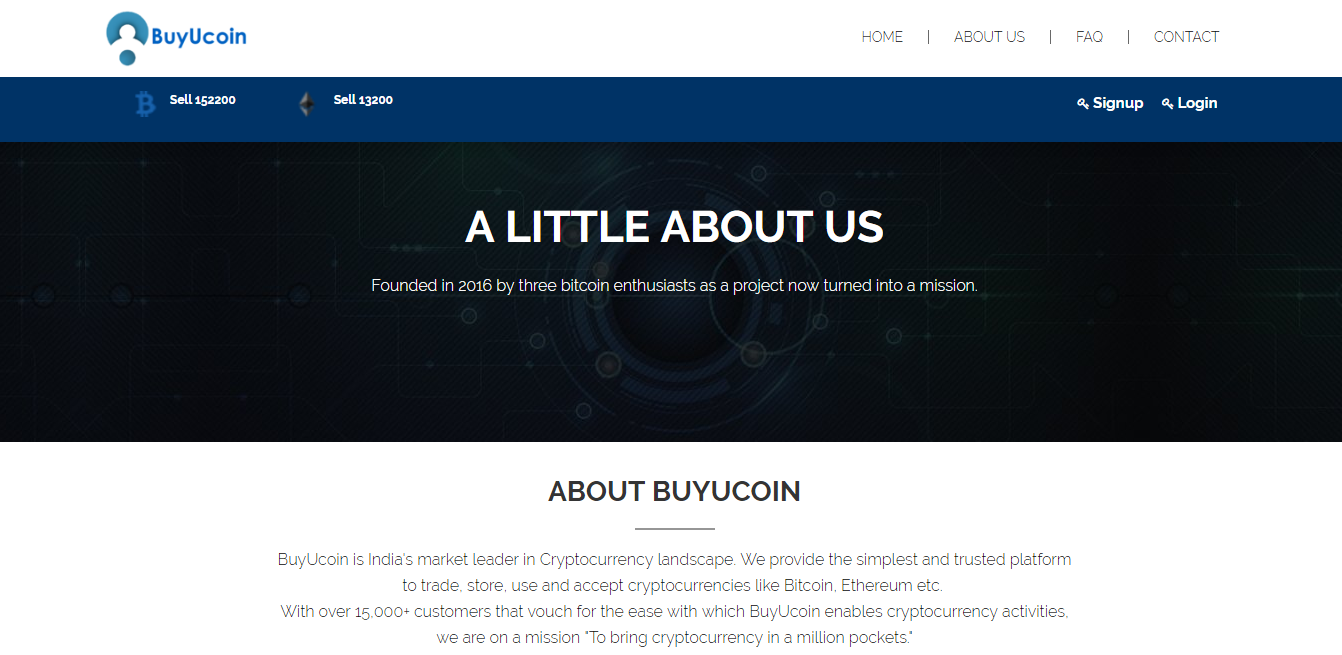 BuyUcoin screenshot