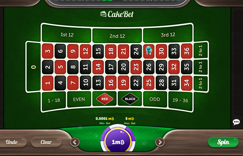 CakeBet Bitcoin Casino  screenshot