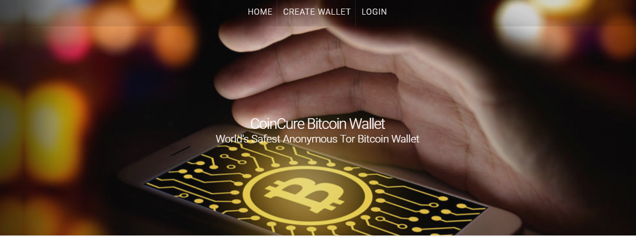 Coin Cure Bitcoin Wallet screenshot