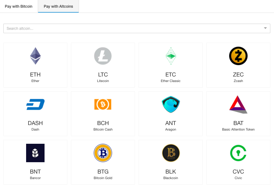 CoinGate screenshot