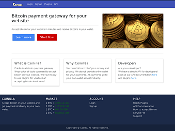 Coinilla screenshot