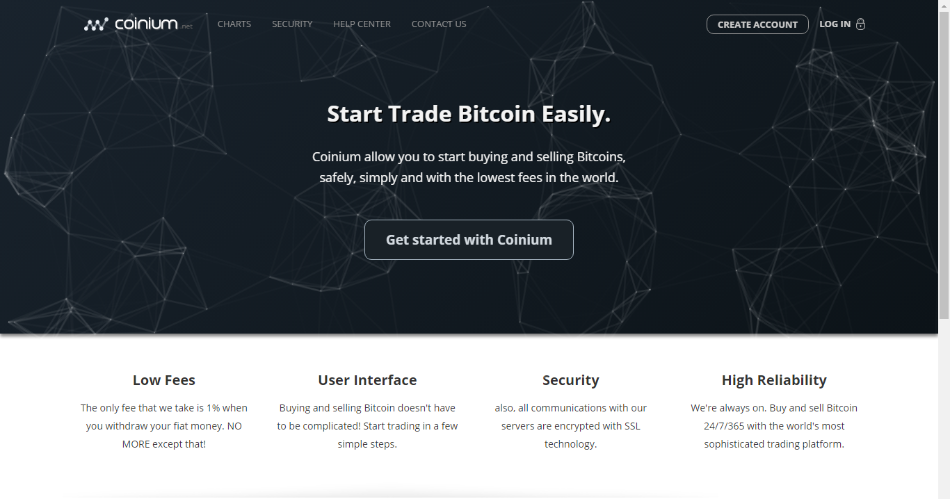 Coinium screenshot