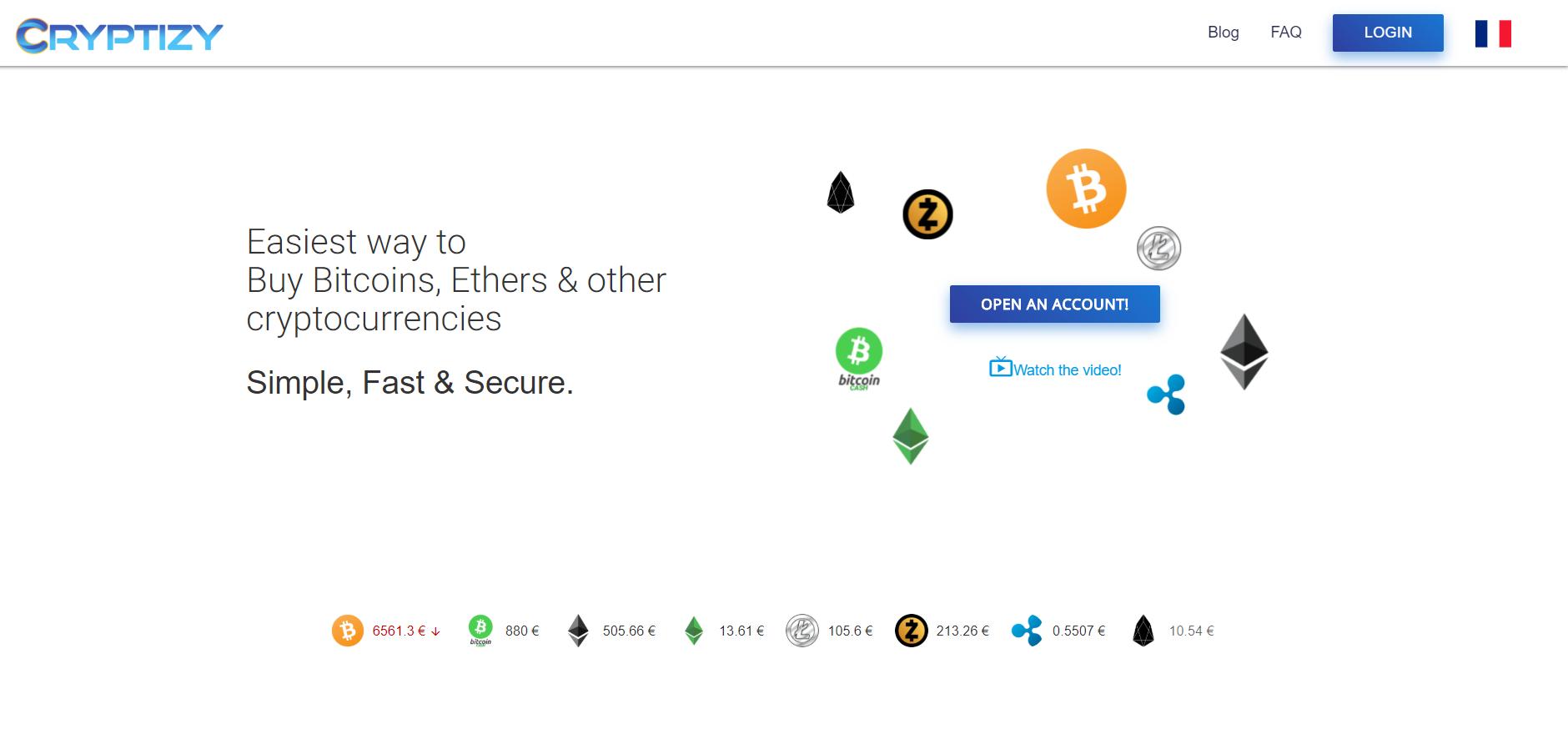 Cryptizy screenshot
