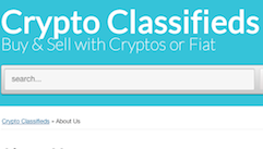 Crypto Classifieds screenshot