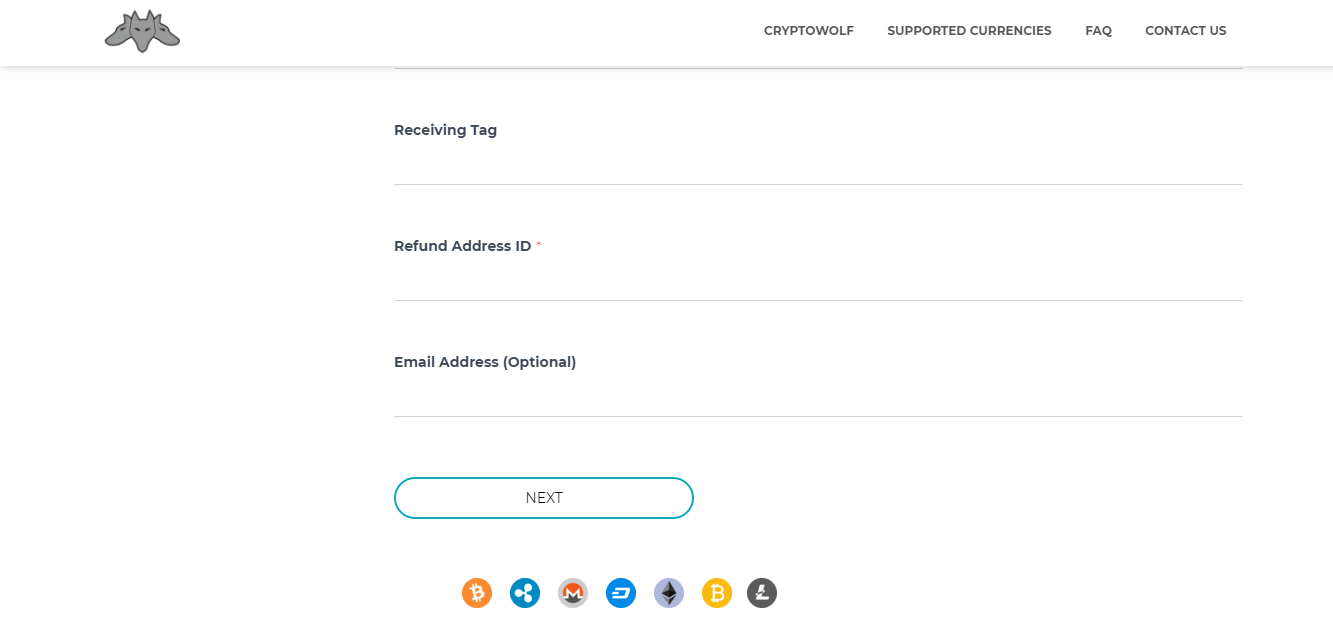 CryptoWolf screenshot