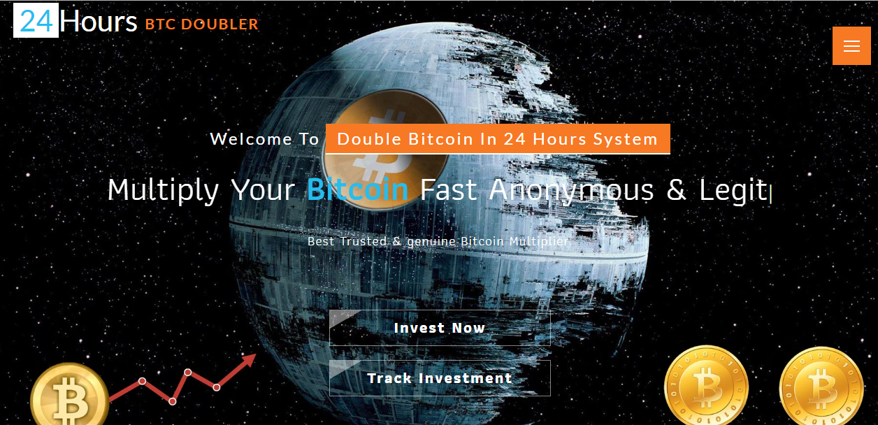Double Bitcoin In 24 Hours System screenshot
