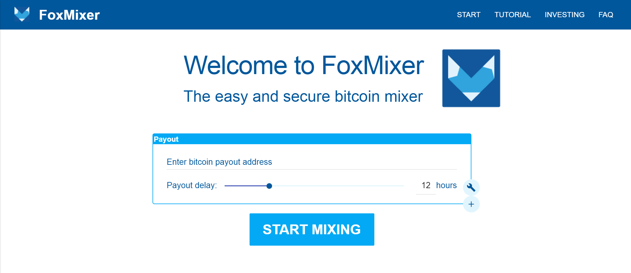 FoxMixer screenshot